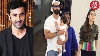 Ranbir Kapoor Convinces Raju Hirani For A Cameo | Shahid Takes A Mini Vacation With Mira Misha