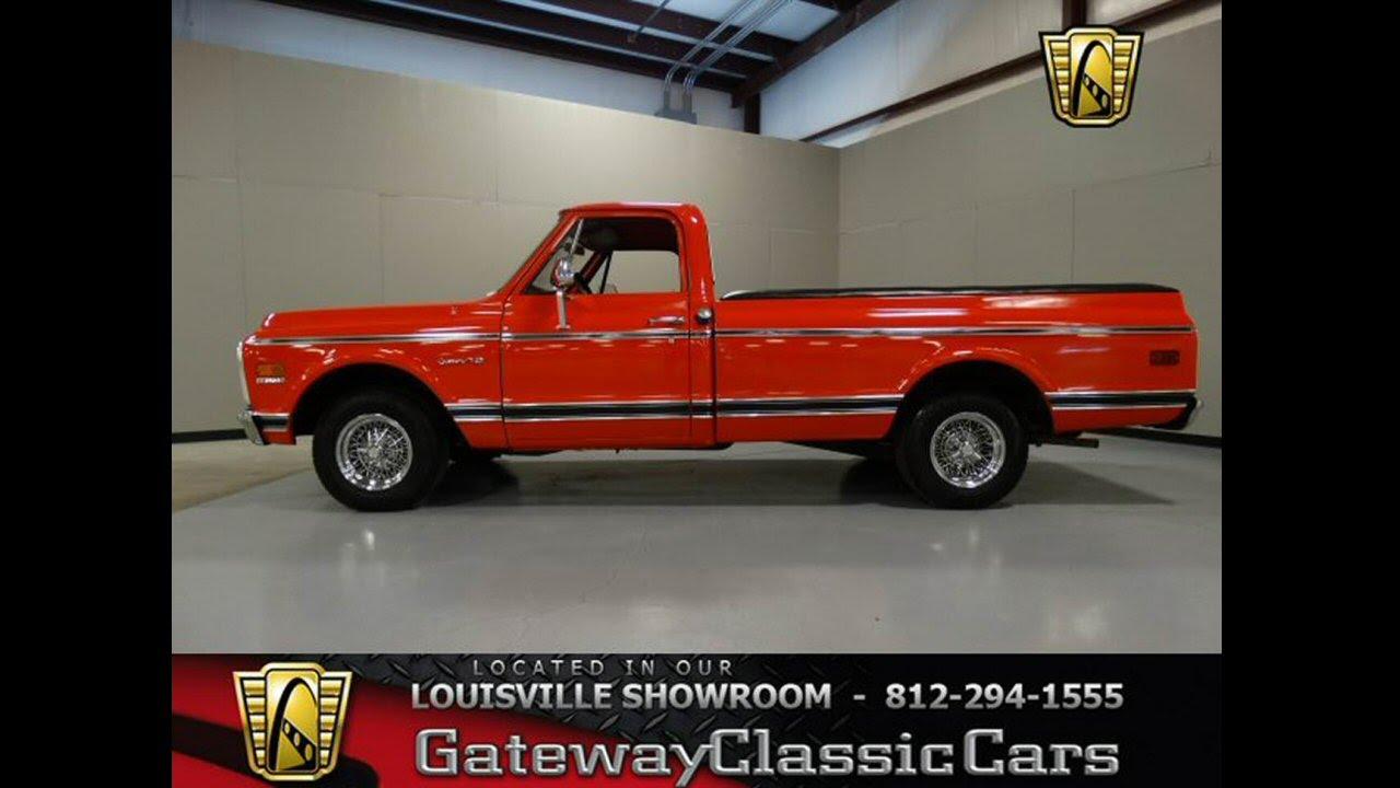 1972 Chevrolet C10 Long Bed Pickup Truck Stock 779