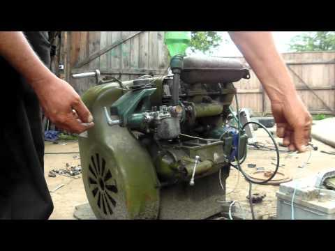 Двигатель УД-2м.