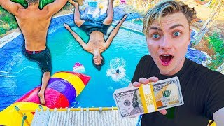 BEST WATER PARK TRICK WINS $10,000 (ft Funk Bros)