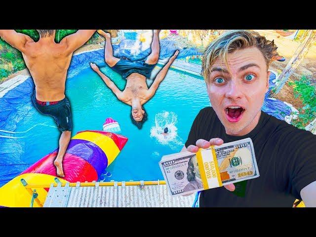 BEST WATER PARK TRICK WINS $10,000 (ft Funk Bros) thumbnail