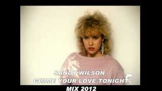 SANDY WILSON - GIMME YOUR LOVE TONIGHT (Mix 2012)