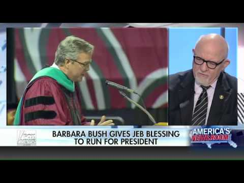 Barbara Bush gives Jeb her blessing to run for president
