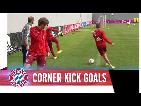 FC Bayern Corner Kick Goals
