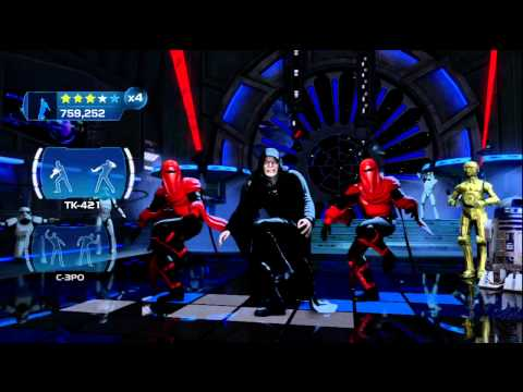 Kinect Star Wars: Galactic Dance Off - Ghost  n  Stuff(Extended)