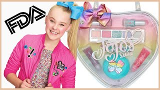 Jojo Siwa Makeup Kit has Asbestos