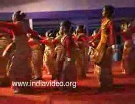 Bihu Dance, Harvest Festival, Folk Dance, Assam, India video