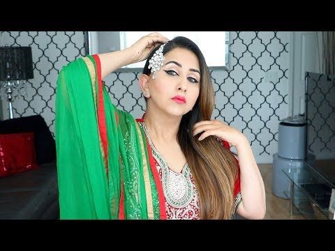 Eid Makeup | Indian/Pakistani Wedding Guest Makeup in Punjabi