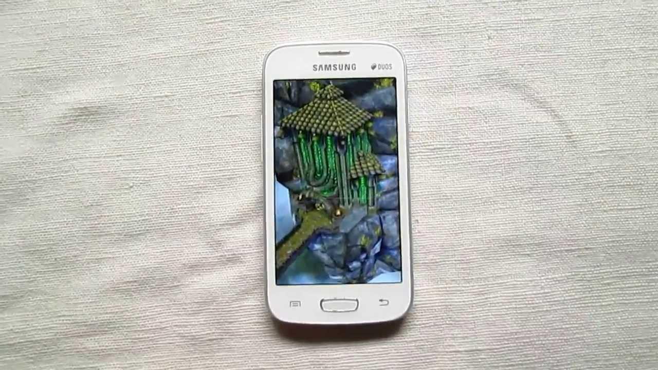 Samsung Galaxy Star Pro Gaming Review - Temple Run 2 Playback ...