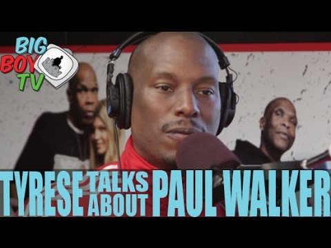 Tyrese Gibson Talks About Paul Walker and Finishing Furious 7 | BigBoyTV