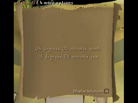 04 degrees 05 minutes south 04 degrees 24 minutes east OSRS coordinates clue