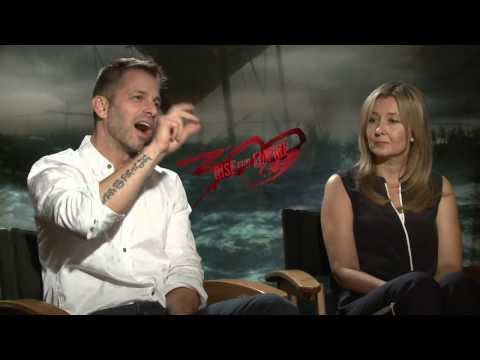 300: Rise of an Empire: Zack Snyder & Deborah Snyder Official Movie Interview Part 1 of 2