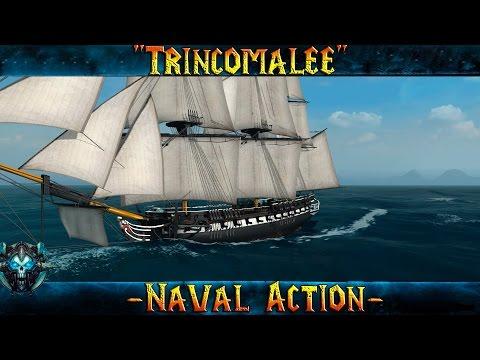 """Naval Action """"Невероятный Trincomalee"""" Пиратская Сага"""