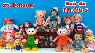 BONECAS  Baú da Tia Cris Nº 5 - Chapeuzinho Vermelho História para as bonecas