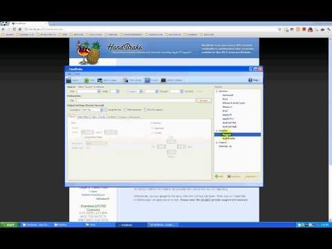TUTORIAL SUPER BASICO DE HANDBRAKE -COMPRIMIR VIDEO PARA LA WEB-