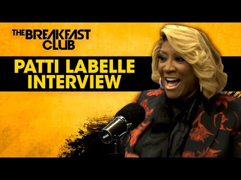 Ms. Patti LaBelle Graces The Breakfast Club To Talk Home Cooking, Haters + More