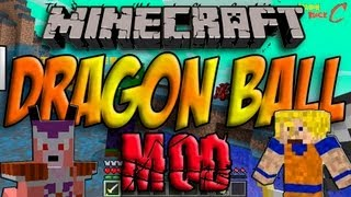Minecraft 1.4.7 - Como Instalar DRAGON BALL MOD - ESPAÑOL [HD] 1080p