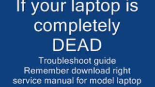 laptop completely dead troubleshooting guide