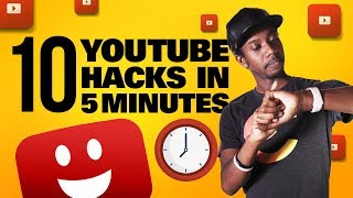 10 YOUTUBE GROWTH HACKS IN 5 MINUTES 🕓 (HOW TO GROW ON YOUTUBE 2019)