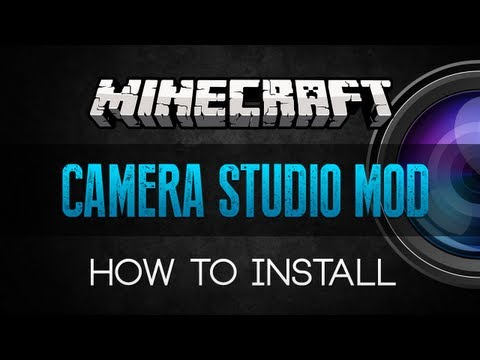 Minecraft: How to Install Camera Studio Mod Works with 1.5.2