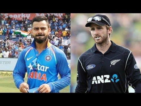 India Vs New Zealand 1st Odi 2017 Highlights
