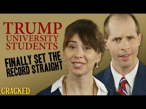 Trump University Students Finally Set The Record Straight