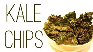 How to make the best oven baked kale chips