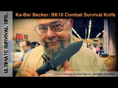 NEW! Ka-Bar Becker BK10 Combat / Pilot Survival Knife - Interview with Ethan Becker