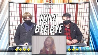 Luna 루나 39 안녕 이대로 안녕 Bye Bye 39 Mv Ninja Bros Reaction Review