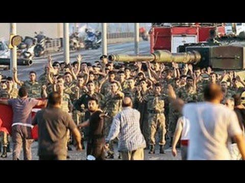 Турецким танкистам сказали, что путч учебный