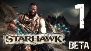 Let's Play Starhawk Beta #01 [HD] [Multiplayer] [German]