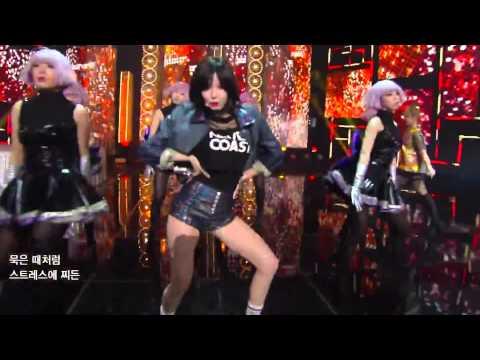 [140321] 포미닛 (4minute) - 오늘 뭐해 (Whatcha Doin' Today?) (Comeback Stage) FULL HD 1080p  LIVE!
