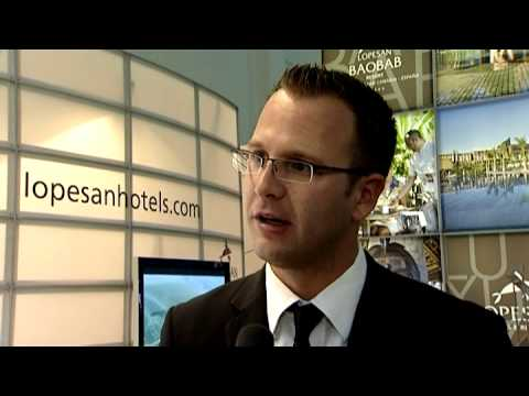 Dennis Fleckenstein, Marketing Manager, LOPESAN Hotel Group @ ITB 2010