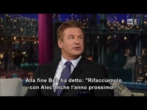 Alec Baldwin al David Letterman Show (part 1)