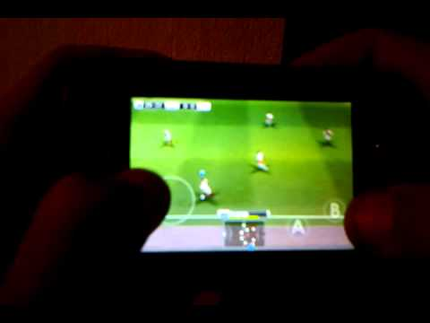 PES 2012 QVGA 240X320 GALAXY MINI