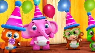 Party Songs for Kids | Eenie Meenie Minie Moe, Happy Birthday & More | Nursery Rhymes Collection