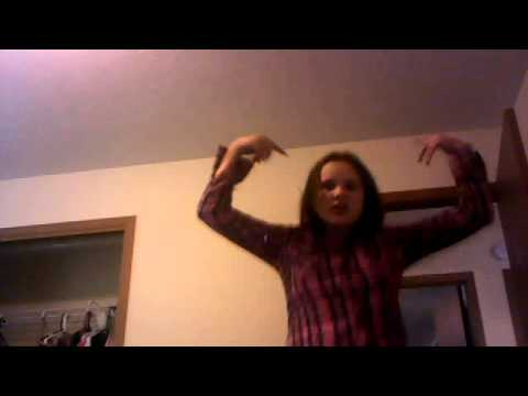 emily singing and dancing to kesha tick tock