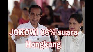 JOKOWI MEMPEROLEH SUARA TERBANYAK hongkong