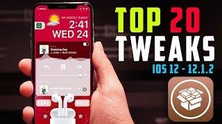 Top 20 BEST Jailbreak Tweaks for iOS 12 - 12.1.2! (New Cydia Tweaks #4)