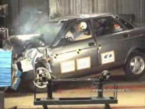 Lada Priora Crash Test Lada Priora Crash Test 2