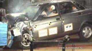 Lada Priora Crash Test #2 EuroNCap