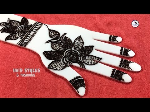 Step by Step Mehndi Designs for full Hands | Simple bridal mehndi Design | Hair Styles & Fashions