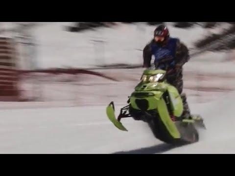 ГОНКИ НА СНЕГОХОДАХ Snowmobile Uphill Race (МИАСС)
