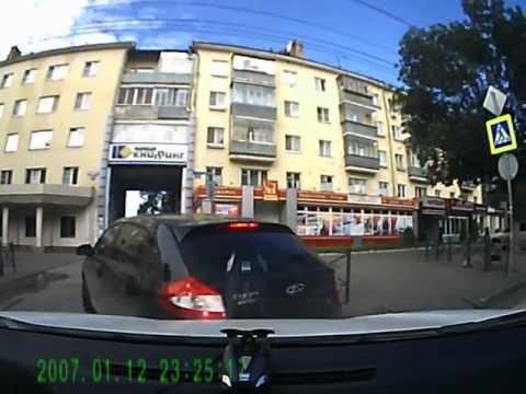 ДТП в Липецке 22.08.2012 на ул.Зегеля
