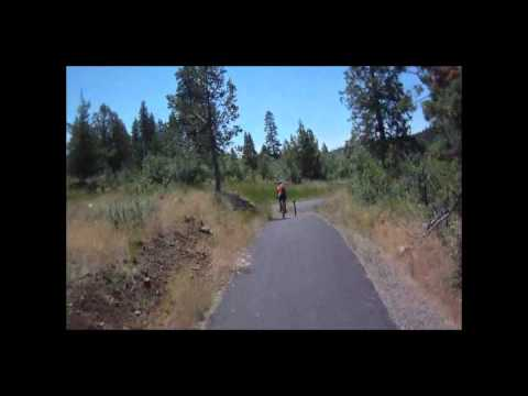 Mountain Biking Zig Zag Trail Klamath Falls, OR