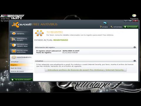descargar avast antivirus licencia 2038