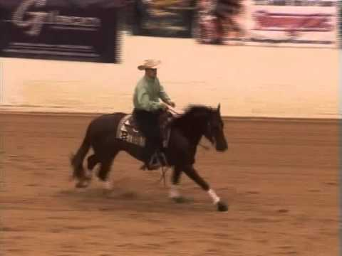 Gabe Davide and OK Spook at the 2012 High Roller Reining Classic