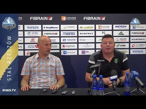 #H69.TV |KONFERENCJA| Stal Rzeszów - GKS Katowice |2019.09.07|