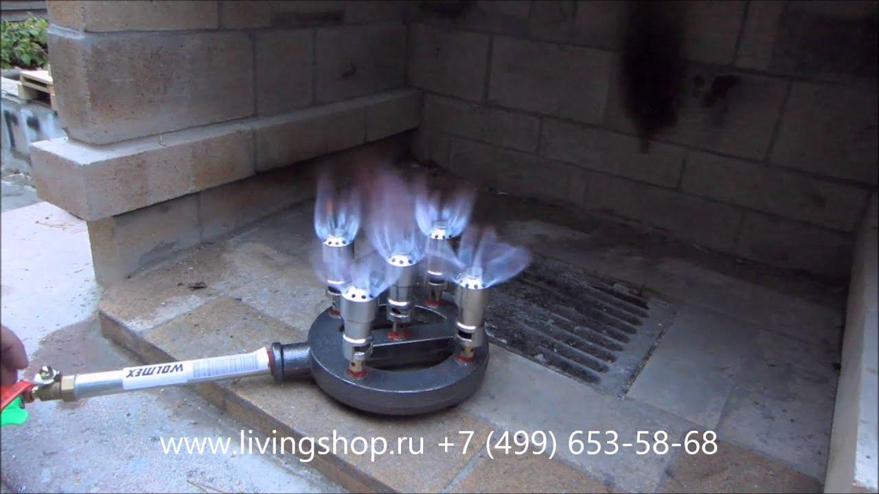 Газовая горелка для природного газа своими руками