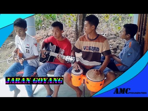 Jaran Goyang cover Gendang Kentrung ll AMC Foundation